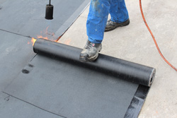 Residential and commercial flat roofs in MI